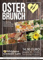 Osterbrunch in der heimlichen Liebe Essen Stadtwald