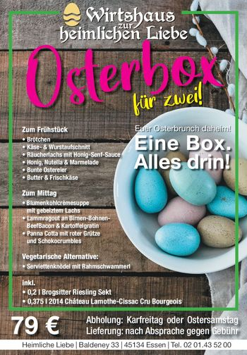Osterbox Menue 2021 to go