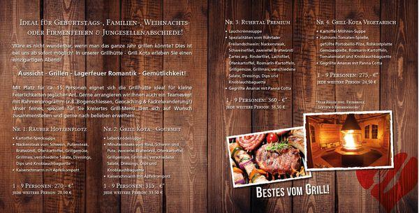 Grillhaus an der heimlichen Liebe Essen Angebote