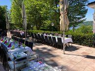 Heimliche Liebe Essen Party Empfang Terrasse