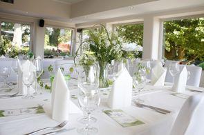 Hochzeitssaal in der heimlichen Liebe Essen Stadtwald