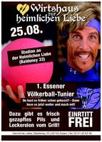 1. Essener Völkerball-Tunier an der heimliche Liebe